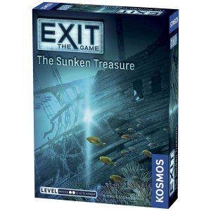 ボードゲームExit: The Sunken Treasure | Exit: The Game -...