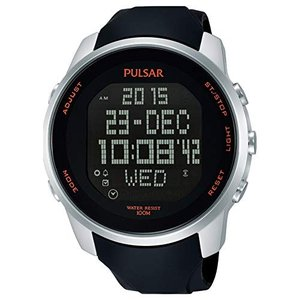 当店1年保証 パルサーMens Pulsar Alarm Chronograph Watch PQ2049X1|planetdream