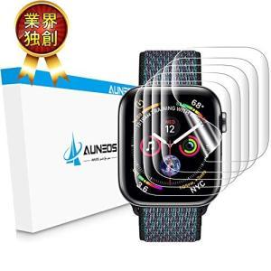 AUNEOS Apple Watch Series4 フィルム 44mm「独創位置付け設計」  Ap...