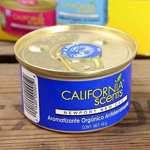 カリフォルニアセンツ 芳香剤 エアフレッシュナー 缶タイプ ニューポートニューカーの香り [車/アメリカ]_AF-AFMC22-MON