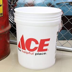 アメリカンバケツ エースハードウェア(ACE Hardware) 約19リットル サイズL_BT-IGAC001-MON|planfirst