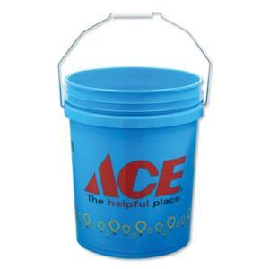 バケツ おしゃれ アメリカ 洗車 洗濯 エースハードウェア(ACE Hardware) Children's Miracle Network Hospitals 約19リットル_BT-IGAC013-MON|planfirst