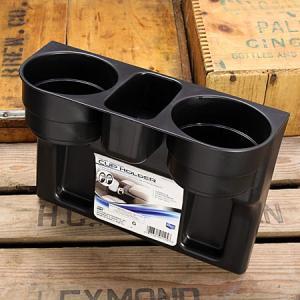 カップホルダー ドリンクホルダー 差し込みタイプ ブラック [車/カーアクセサリー/便利/アメリカ]_CA-CAI91125-MON|planfirst