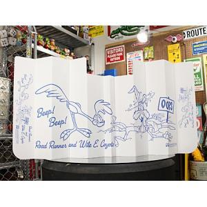 サンシェード ロードランナー 車 日よけ おしゃれ 折り畳み フロントガラス カー用品 カーアクセサリー キャラクター_CA-RR056-MON|planfirst