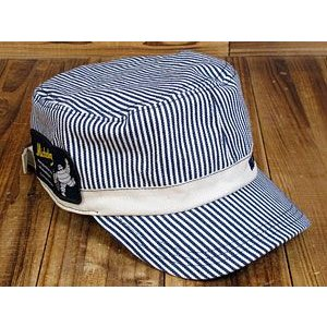 ミシュランワークキャップ(帽子)/ヒッコリー_CP-2802...