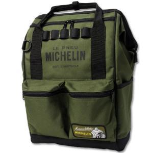 ミシュラン リュック ショルダーバッグ ハンドバッグ ボックス 4WAY MICHELIN オリーブ_BG-230462-M2S|planfirst