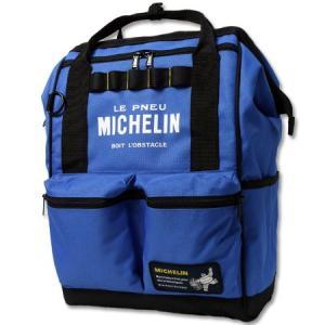 ミシュラン リュック ショルダーバッグ ハンドバッグ ボックス 4WAY MICHELIN ブルー_BG-230769-M2S|planfirst