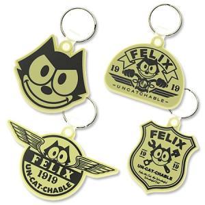 フィリックス・ザ・キャット キーホルダー フィリックス グッズ キャラクター アメリカ 猫 アメリカン雑貨 ラバーキーリング メール便OK_KH-KGAZF431-MON|planfirst