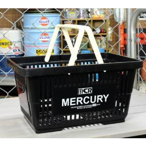 マーキュリー バスケット 収納 かご ポリプロピレン おしゃれ マーケットバスケット 買い物かご アメリカ アメリカン雑貨 MERCURY ブラック_MC-MEMABABK-MCR|planfirst