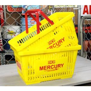 マーキュリー バスケット 収納 かご ポリプロピレン おしゃれ マーケットバスケット アメリカ アメリカン雑貨 MERCURY イエロー 2個セット_MC-MEMABAYE2P-MCR|planfirst