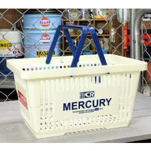 マーキュリー バスケット 収納 かご ポリプロピレン おしゃれ マーケットバスケット 買い物かご アメリカ アメリカン雑貨 MERCURY ホワイト_MC-MEMABAWH-MCR|planfirst