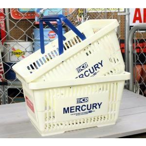 マーキュリー バスケット 収納 かご ポリプロピレン おしゃれ マーケットバスケット アメリカ アメリカン雑貨 MERCURY ホワイト 2個セット_MC-MEMABAWH2P-MCR|planfirst
