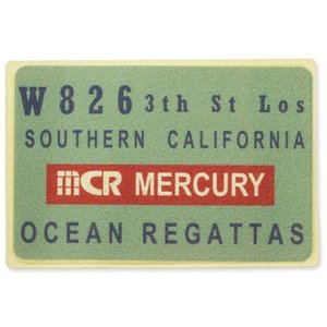 マーキュリー 玄関マット 屋外 室内 滑り止め おしゃれ フロアーマット アメリカン インテリア MERCURY サイズL ブルー_MC-MEPGMLBL-MCR|planfirst