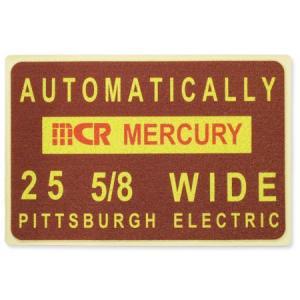 マーキュリー 玄関マット 屋外 室内 滑り止め おしゃれ フロアーマット アメリカン インテリア MERCURY サイズL バーガンディー_MC-MEPGMLBU-MCR|planfirst