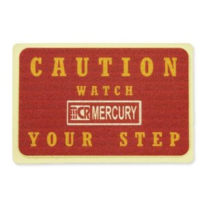マーキュリー 玄関マット 屋外 室内 滑り止め おしゃれ フロアーマット アメリカン インテリア MERCURY サイズS レッド_MC-MEPGMSRD-MCR|planfirst
