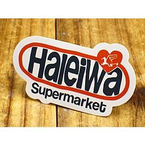 ステッカー ハワイアン 車 アメリカン おしゃれ バイク ヘルメット かっこいい ハレイワスーパーマーケット Haleiwa メール便OK_SC-HSM006-SXW|planfirst
