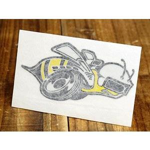 ステッカー 車 ダッジ アメリカン おしゃれ バイク ヘルメット かっこいい 復刻 DODGE スーパー・ビー SUPER BEE 転写式 右向き メール便OK_SC-DD244-MON|planfirst