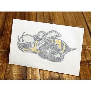 ステッカー 車 ダッジ アメリカン おしゃれ バイク ヘルメット かっこいい 復刻 DODGE スーパー・ビー SUPER BEE 転写式 左向き メール便OK_SC-DD245-MON|planfirst