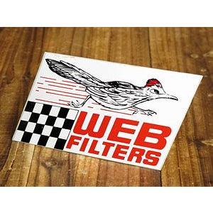 ステッカー 車 アメリカン おしゃれ バイク ヘルメット かっこいい WEB FILTERS メール便OK_SC-005-SXW|planfirst