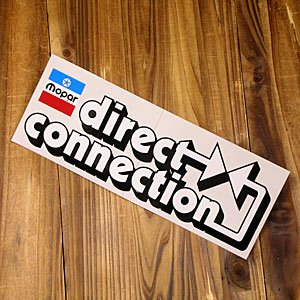 ステッカー 車 モパー アメリカン おしゃれ バイク ヘルメット かっこいい 復刻 クライスラー MOPAR Direct Connection サイズL メール便OK_SC-DD0635-MON|planfirst