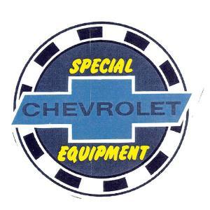 ステッカー シボレー 車 アメリカン おしゃれ かっこいい 復刻 CHEVROLET SPECIAL EQUIPMENT 裏貼り サイズS メール便OK_SC-DC602-MON|planfirst