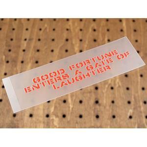 アメリカンミリタリーステンシル転写ステッカー 「笑う門には福来たる」 メール便OK_SC-PST014-SXW|planfirst