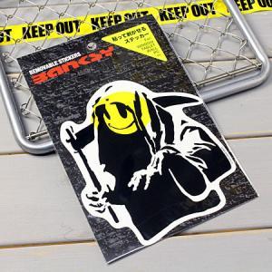 バンクシー ステッカー ウォールステッカー 車 死神 おしゃれ バイク かっこいい BANKSY Reaper メール便OK_SC-BKW004-ACT|planfirst