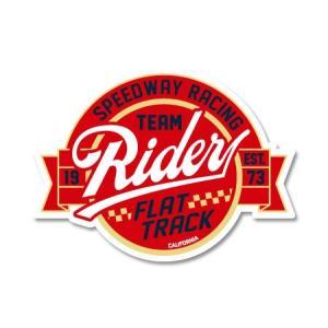 ステッカー アメリカン おしゃれ 車 バイク かっこいい ホットロッド カスタム レーシング カーステッカー CALIFORNIA RACING BADGES RIDER|planfirst