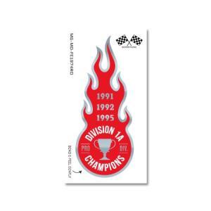 ステッカー フレイム ファイヤー ファイア 炎 火 アメリカン おしゃれ 車 バイク かっこいい ホットロッド ミラー 反射 FLAME EMBLEM CHAMPIONS|planfirst