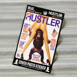 HUSTLER(ハスラー) ステッカー セクシー 車 スーツケース かっこいい アメリカン バイク ヌード 面白い おしゃれ JUL2000 メール便OK_SC-HLJ10007-DGT|planfirst