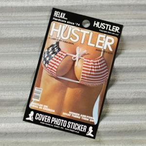 HUSTLER(ハスラー) ステッカー セクシー 車 スーツケース かっこいい アメリカン バイク ヌード 面白い おしゃれ AUG1979 メール便OK_SC-HLJ17908-DGT|planfirst