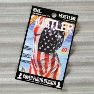 HUSTLER(ハスラー) ステッカー セクシー 車 スーツケース かっこいい アメリカン バイク ヌード 面白い おしゃれ JUL1984 メール便OK_SC-HLJ18407-DGT|planfirst