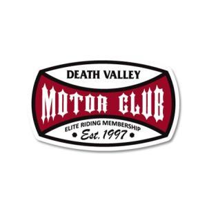 ステッカー アメリカン おしゃれ バイク 車 かっこいい ホットロッド カスタム レーシング カーステッカー MOTOR CLUB ICONS DEATH VALLEY|planfirst