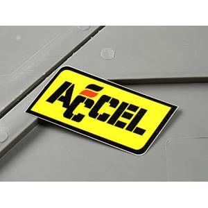 ステッカー アクセル バイク 車 アメリカン かっこいい ACCEL メール便OK_SC-MS011-FEE|planfirst