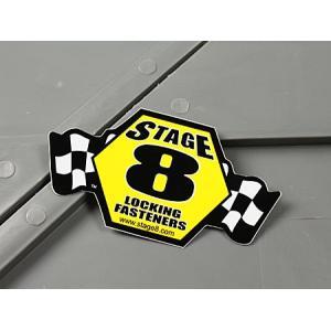 ステッカー STAGE8 ステージ8 車 バイク アメリカン かっこいい 世田谷ベース メール便OK_SC-MS067-FEE|planfirst