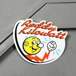 ステッカー レディ・キロワット REDDY KILOWATT 車 バイク アメリカン かっこいい 世田谷ベース メール便OK_SC-MS097-FEE|planfirst