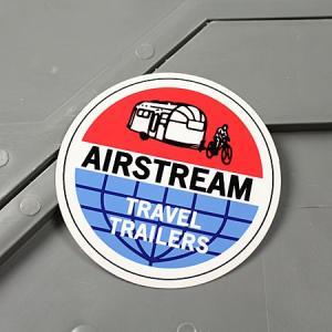 ステッカー エアストリーム キャンピングトレーラー  車 アメリカン かっこいい アウトドア AIRSTREAM メール便OK_SC-MS114-FEE|planfirst