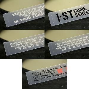 ステッカー 車 ステンシル ステッカー 転写タイプ 2000円 ポッキリ 送料無料 アメリカン ミリタリー 5枚セット 01 メール便OK_SC-PST5P01-SXW|planfirst