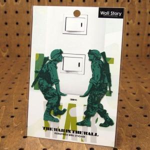 ミリタリーウォールステッカー(壁貼りステッカー)  Wall Story No.11 運搬中 メール便OK_SC-TWITW11-TYC|planfirst