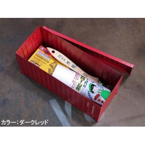 海上コンテナ型ミニマルチ収納ボックス マットブラック_SR-007-FEE|planfirst|04