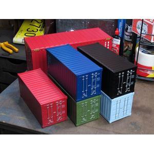 海上コンテナ型ミニマルチ収納ボックス マットブラック_SR-007-FEE|planfirst|06