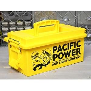 収納ボックス ツールボックス 工具箱 プラスチック ミリタリー アーモカン アメリカン DIY アウトドア キャンプ レディ・キロワット_SR-AMMOBOXYE-SHO|planfirst
