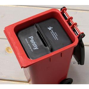 ゴミ箱型 小物入れ 貯金箱 ペンスタンド レッド_SR-HFT248-ACT|planfirst|03