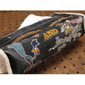 ロードランナー ティッシュケース ブラック ルーニー・テューンズ メール便OK_TC-RR008BK-MON planfirst 02