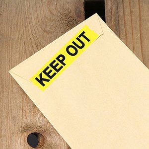 KEEP OUT(立入禁止) 粘着テープ 15mm幅 メール便OK_TP-004-HYS|planfirst|03