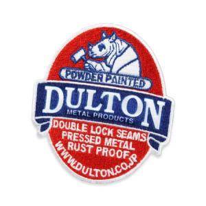 ダルトン ワッペン アイロン アメカジ ワークスタイル おしゃれ かっこいい DULTON METAL PRODUCTS メール便OK_WP-118336B-DLT planfirst