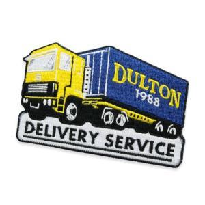 ダルトン ワッペン アイロン アメカジ ワークスタイル おしゃれ かっこいい DULTON DELIVERY SERVICE メール便OK_WP-118336C-DLT planfirst