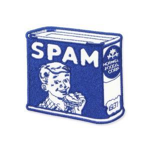 スパム SPAM ワッペン アイロン アメリカン アメカジ おしゃれ かわいい 面白い ジャケット トートバッグ アメリカン雑貨 ロゴ OLD planfirst