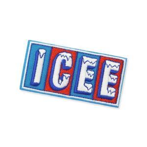 アイシー ICEE ワッペン アイロン アメリカン アメカジ おしゃれ かわいい 面白い ジャケット トートバッグ アメリカン雑貨 ロゴ LOGO planfirst