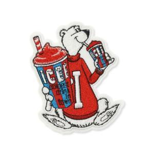 アイシー ICEE ワッペン アイロン アメリカン アメカジ おしゃれ かわいい くま 熊 ベア 面白い ジャケット トートバッグ アメリカン雑貨 ロゴ BEAR planfirst